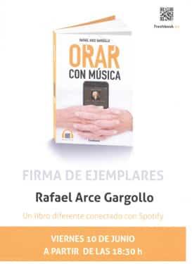 Firma del libro Orar con musica