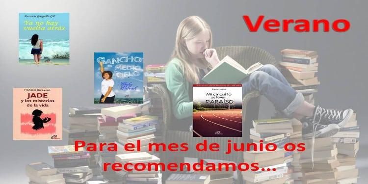 Recomendaciones de libros para el mes de junio