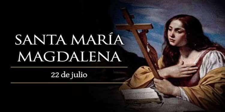 Banner de María Magdalena
