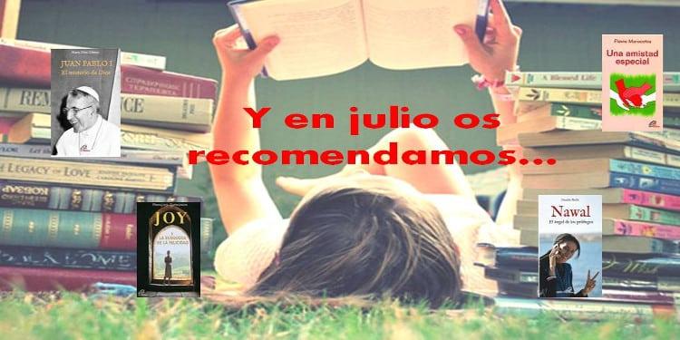 Recomendaciones de libros de la editorial Paulinas para verano