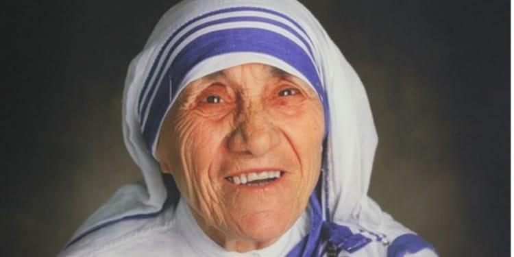 Banner Madre Teresa de Calcuta