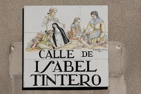 calle Isabel Tintero descubridora de la imagen de la Virgen de la Paloma