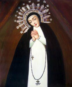 Imagen de la Virgen de la Paloma