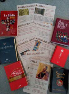 Materiales biblicos, biblias, posteres,...