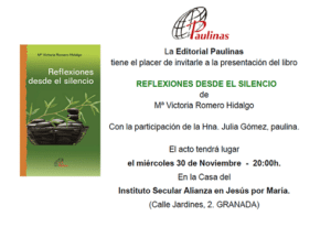 Invitación libro Mª Victoria 2