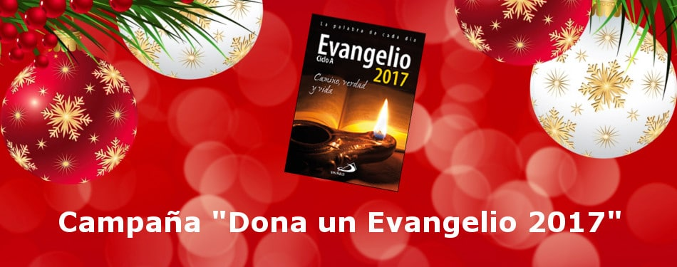 Banner Campaña Dona un Evangelio 2017