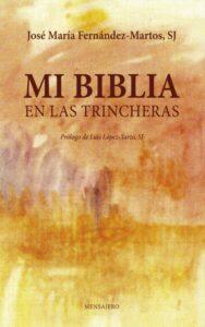 portada del libro mi biblia en las trincheras