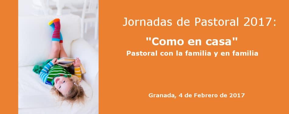 Banner Jornadas de Pastoral 2017 en Granada