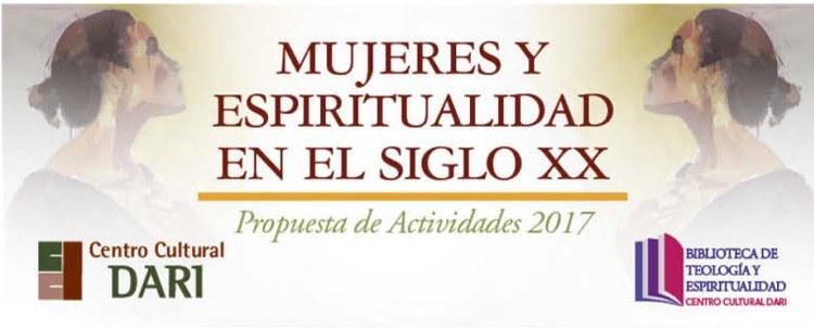 Banner Mujeres y espiritualidad en el siglo XX