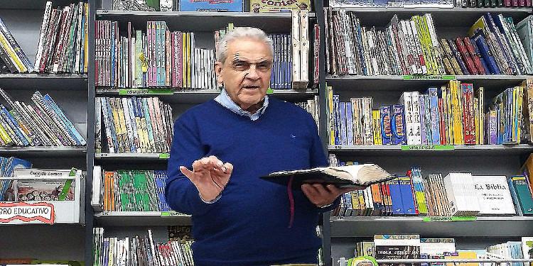 Presentacion del libro Mi Biblia en las trincheras de Jose Maria Fernandez Martos