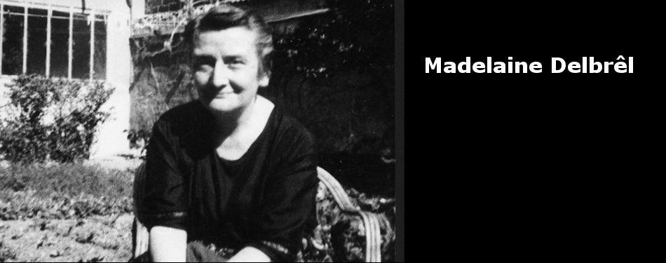 Banner Madelaine Delbrel