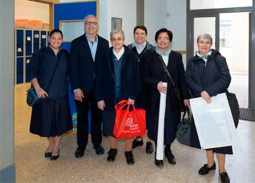 Paulinas al Colegio imperial de huérfanos Valencia