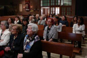 Las comunidades de la parroquia de santa ines y nuestra señora del pino despues de ver la pelicula tecla merlo una vida para el evangelio