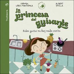 portada del cuento la princesa del guisante de la editorial san pablo