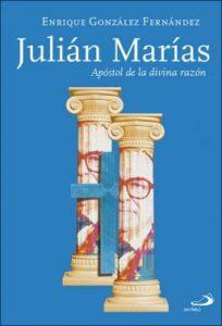 portada del libro julian marias apostol de la divina razon de la editorial san pablo