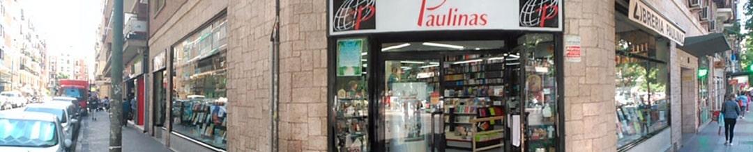 Vista exterior de la librería Paulinas Madrid