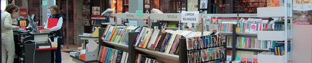 Vista interior de Librería Paulinas Granada