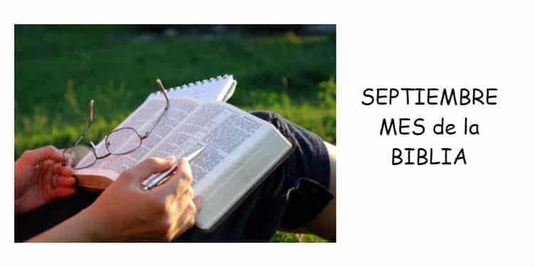 Mes de biblia