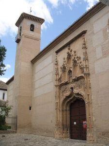 Puerta de la Iglesia del Monasterio Santa Isabel la Real