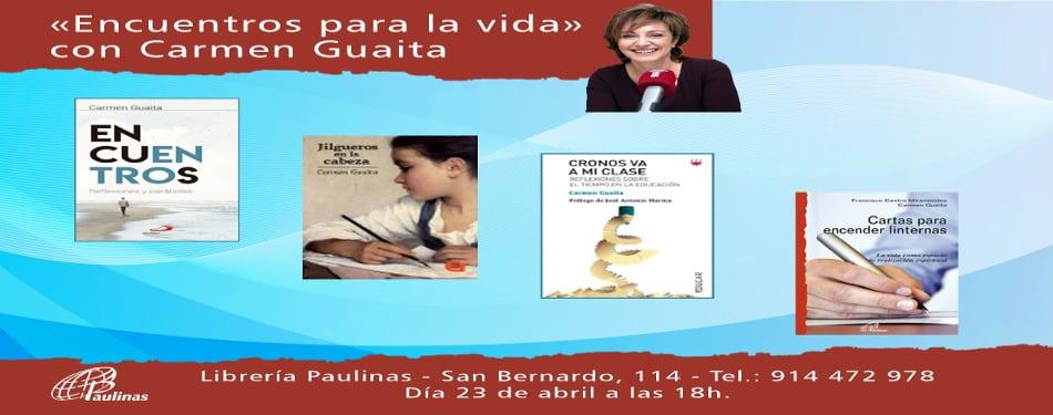 Presentacion del libro Encuentros en la libreria paulinas