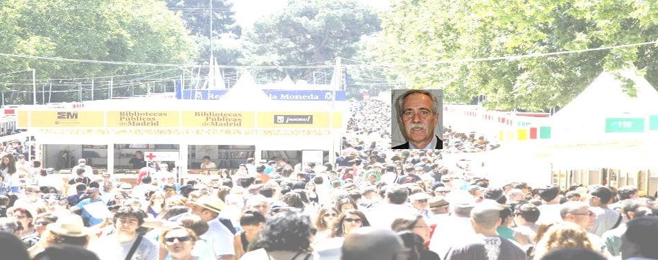 Antonio Perez Bisonte firmara sus ultima novela la cancion del bisonte en la caseta 71 de la feria del libro de madrid