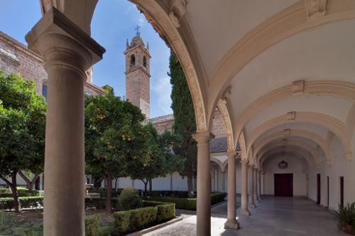 Claustro del Monasterio de la Cartuja