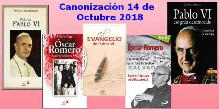 Canonización de Pablo VI y Óscar Romero