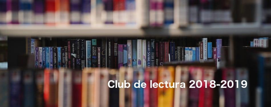 Club de lectura 2018-2019