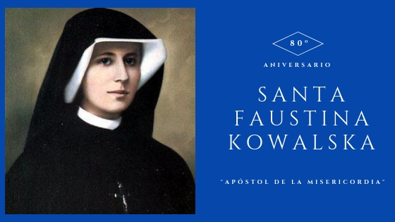 Cabecera Santa Faustina Kowalska