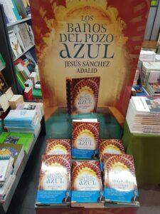 Presentacion del libro los baños del pozo azul de Jesus Sanchez Adalid