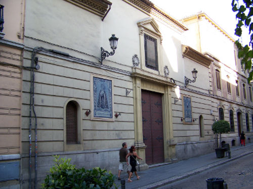 Monasterio del Santo Ángel Custodio en Granada