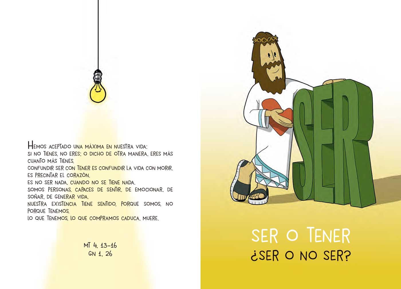 Ilustración Ser o Tener