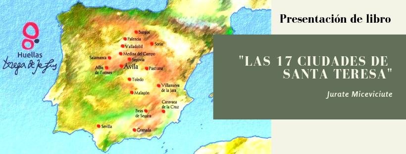 Cabecera presentación 17 ciudades de Santa Teresa