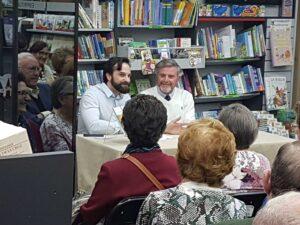 Presentacion del libro dosis de ternura de Alejandro Fernandez Barrajon en la libreria Paulinas