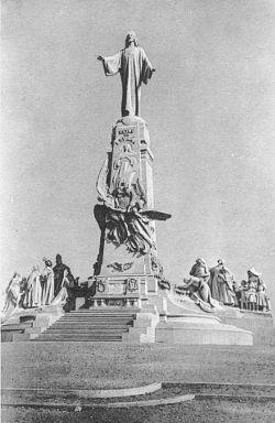 Monumento del Cerro de los Ángeles 1919