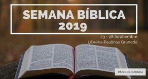 Portada Semana Bíblica 2019