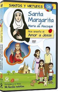 Santa Margarita María Alacoque y el amor a Jesús