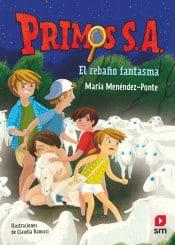 Portada del libro Primos. El rebaño fantasma de Maria Menendez Ponte
