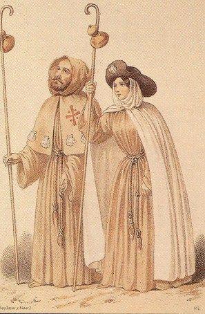 Peregrinos en la Edad Media