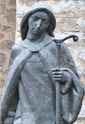 Santa Teresa de Ávila andariega