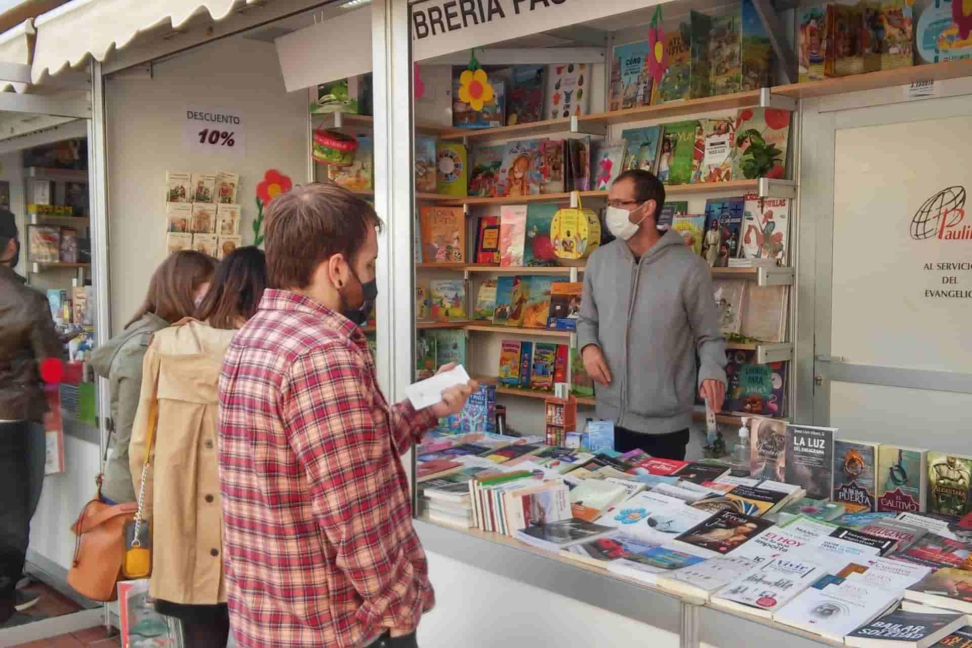 Cabecera Feria libro Valladolid