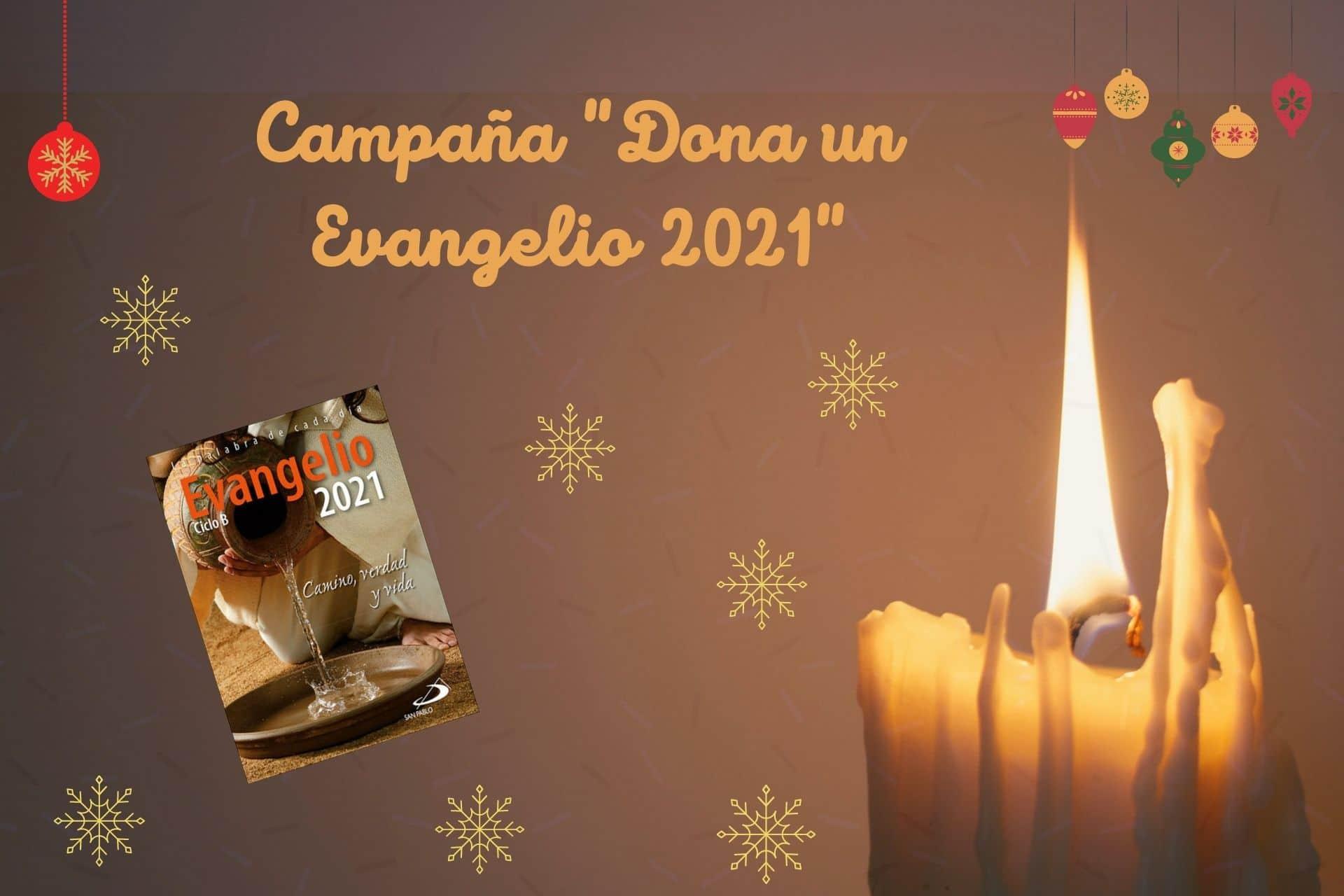 Cabecera Campaña Dona un Evangelio 2021