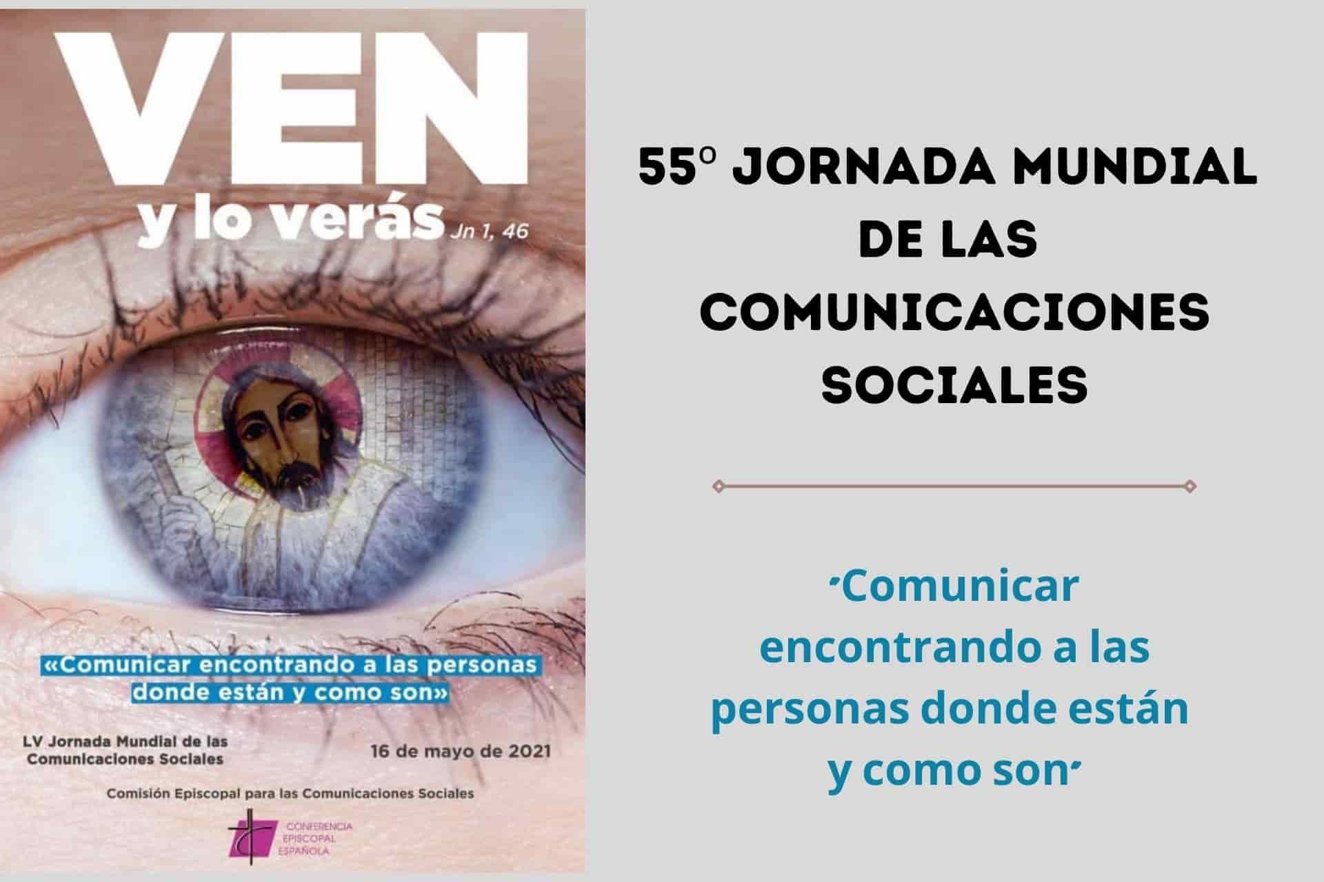 Cabecera 55 Jornada Mundial de las Comunicaciones Sociales