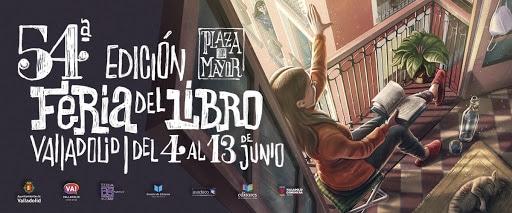 Banner Feria libro Valladolid 2021