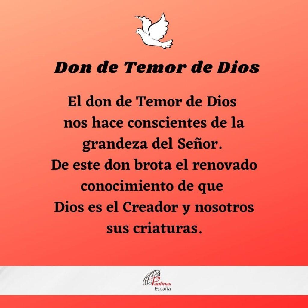 Don de Temor de Dios