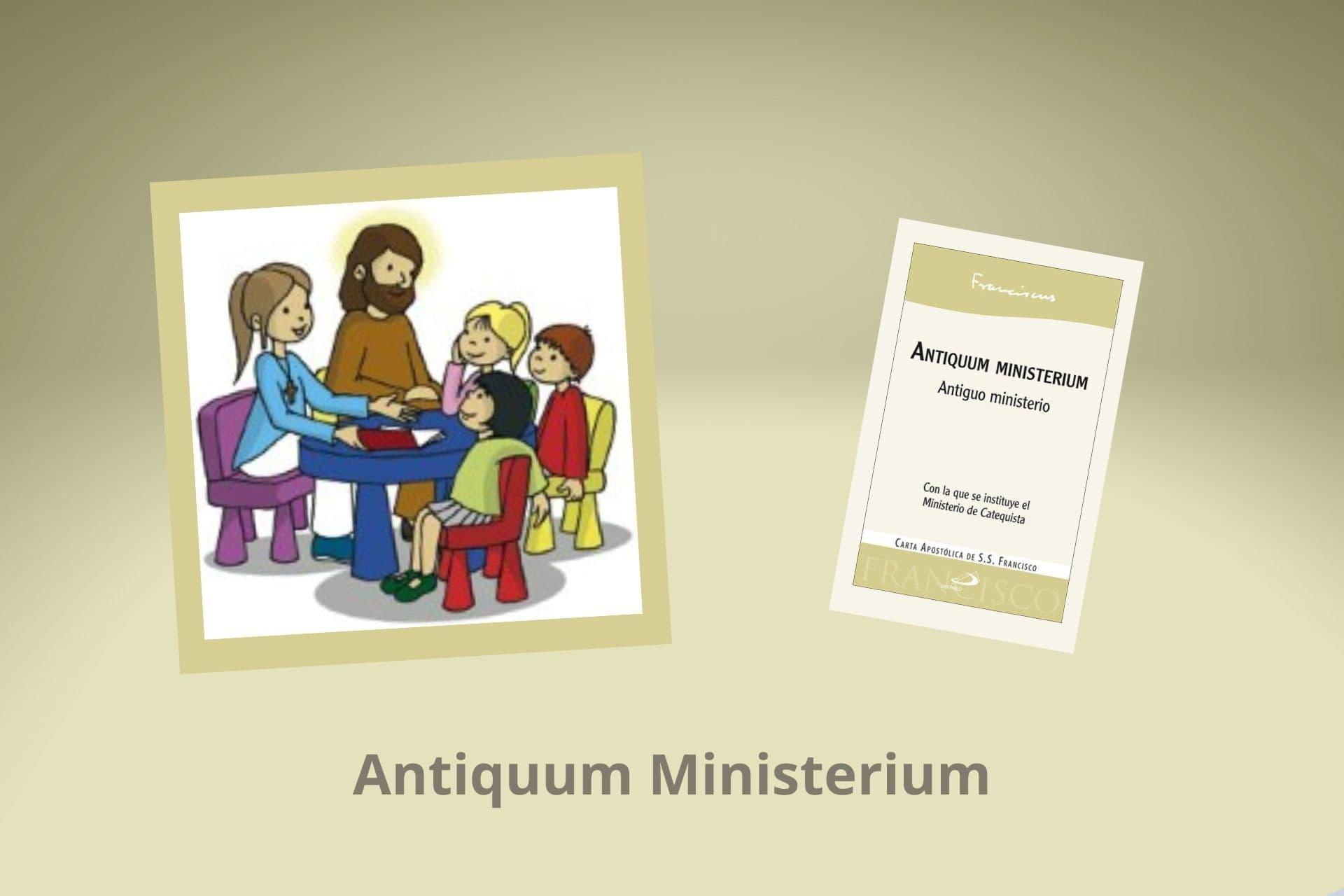 Cabecera Antiquum ministerium